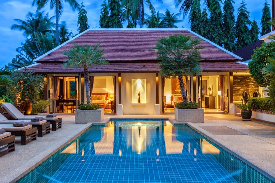 2 Bedroom Option Garden Villa with Private Pool at Bangrak Koh Samui