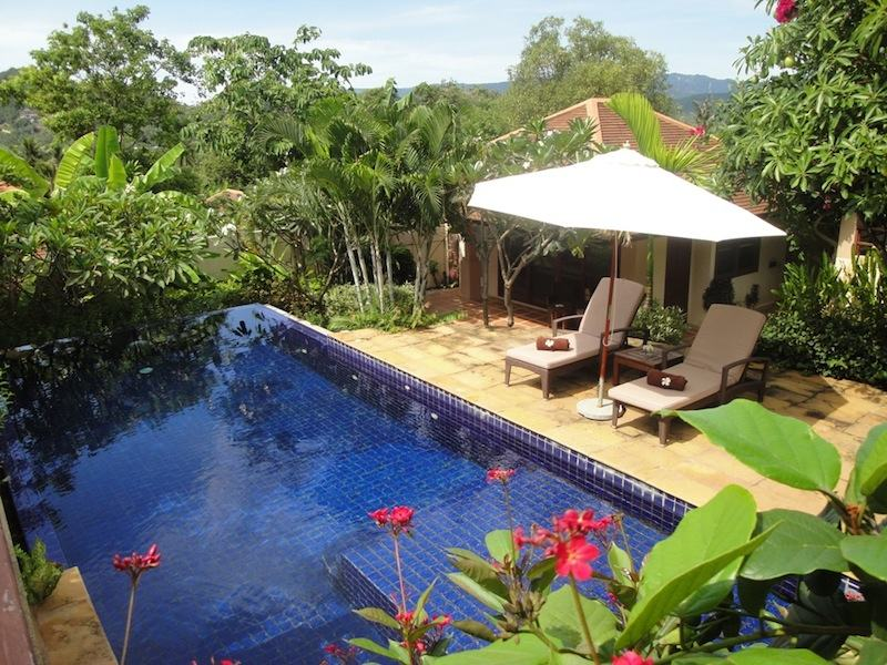 3 Bedroom Garden View Villa with Pool at Choeng Mon Samui Thailand