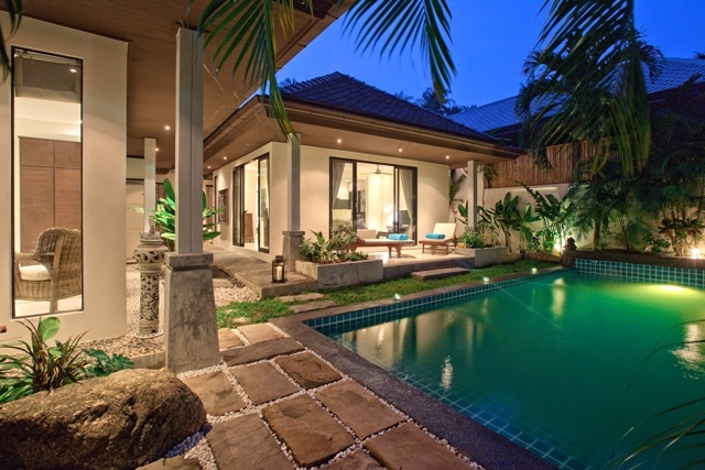 2 Bedroom Garden View Villa with Private Pool at Bophut Koh Samui