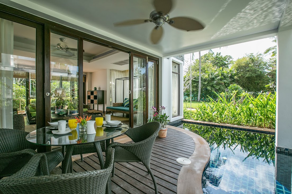 3 Bedroom Garden Luxury Villa with Private Pool at Bang Por Ko Samui
