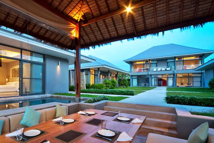 6 Bedroom Beach Front Villa with Private Pool at Plai Laem Ko Samui