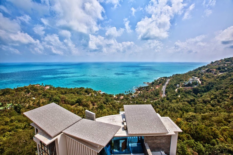 4 Bedroom Sea View Villa with Pool at Chaweng Ko Samui Thailand