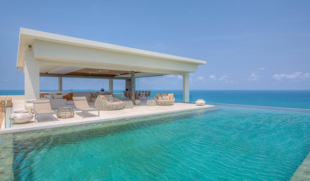5 Bedroom Sea View Villa with Private Pool at Choeng Mon Koh Samui Thailand