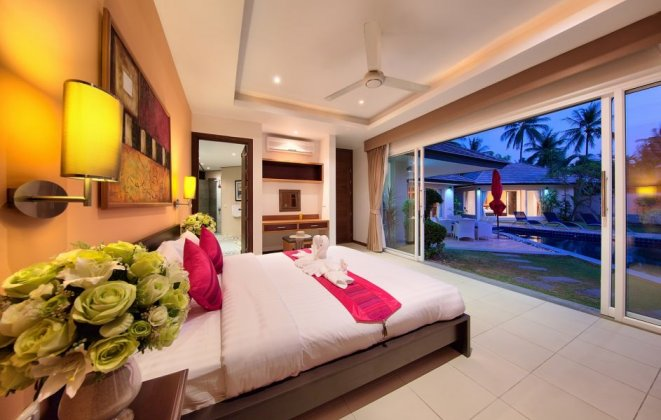 3 Bedroom Garden Villa with Private Pool at Lipa Noi Koh Samui