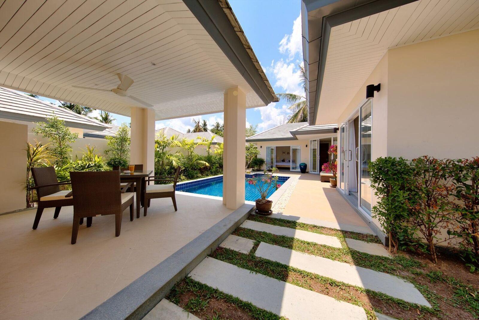 2 Bedroom Garden View Villa with Private Pool at Lipa Noi Ko Samui