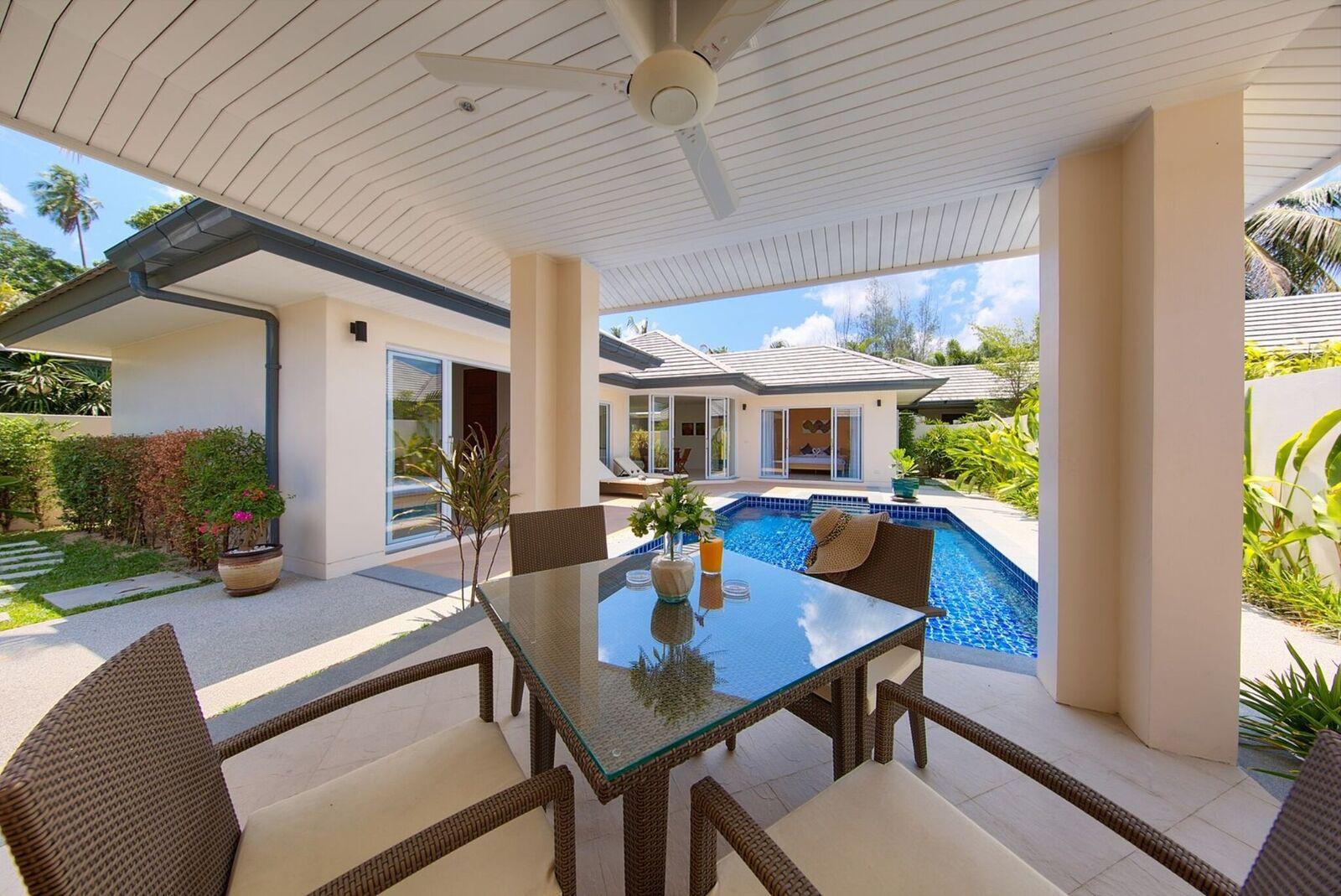 2 Bedroom Garden View Villa with Private Pool at Lipa Noi Samui
