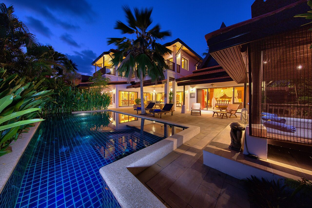 3 Bedroom Garden Villa with Luxury Pool at Laem Sett Koh Samui