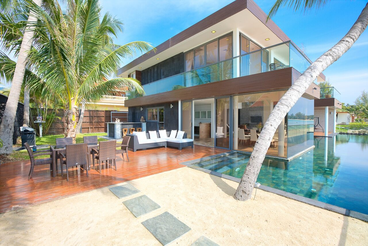 1 Bedroom Option Beach Front Villa with Infinity Pool at Lipa Noi Koh Samui
