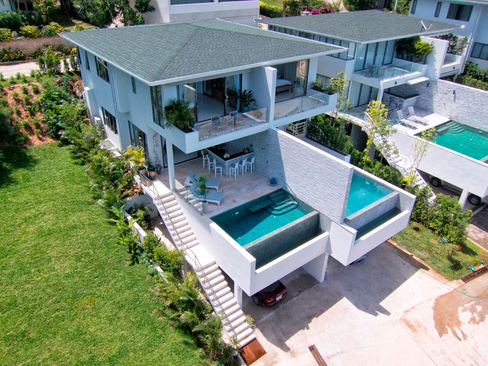 4 Bedroom Sea View Villa with Private Pool at Tongson Bay Koh Samui