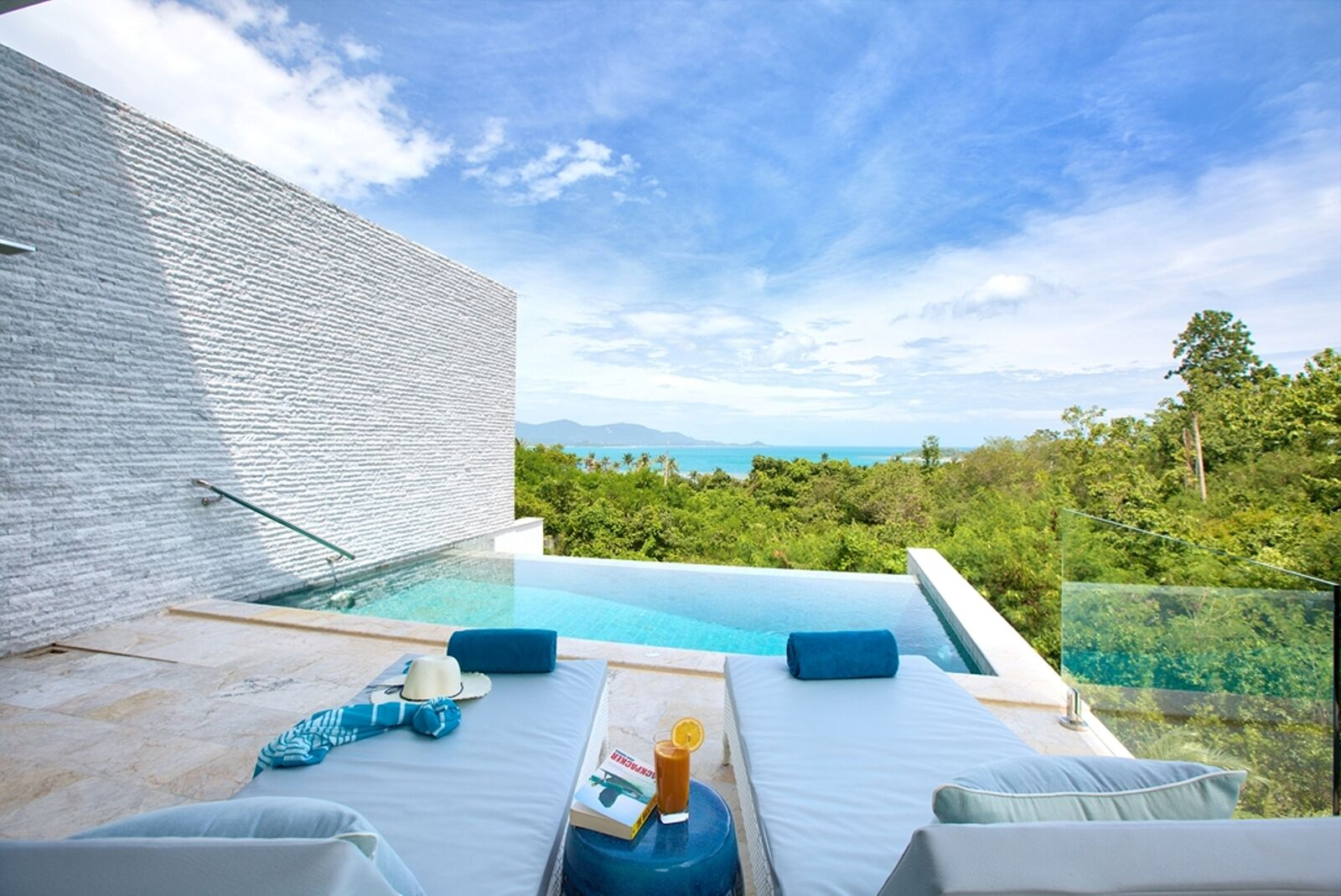 4 Bedroom Sea View Villa with Private Pool at Tongson Bay Koh Samui