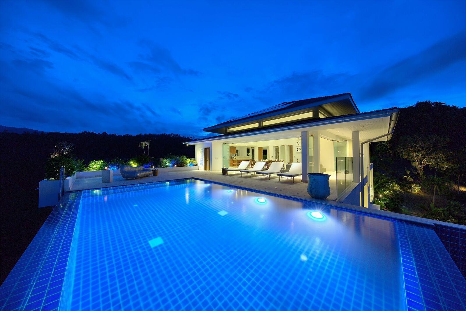 2 Bedroom Option Sea View Villa with Private Pool at Bophut Hills Ko Samui