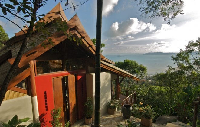 1 Bedroom Option Sea View Villa with Shared Pool at Laem Sett Koh Samui