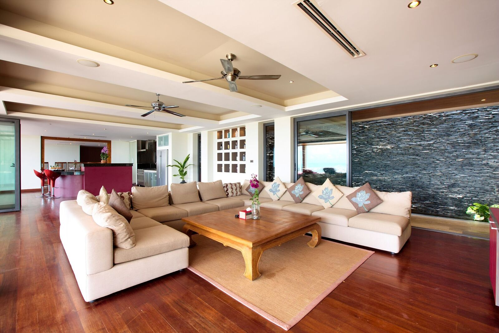 3 Bedroom Option Sea View Villa with Private Pool at Bophut Hills Koh Samui