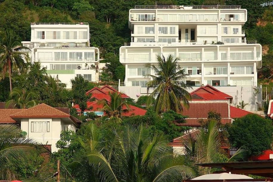 4 Bedroom Sea View Villa with Private Pool at Bangrak Koh Samui