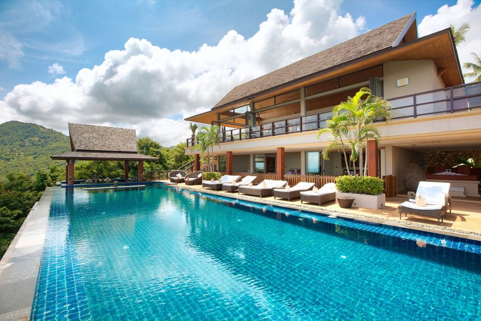 5 Bedroom Sea View Villa with Private Pool at Bophut Samui