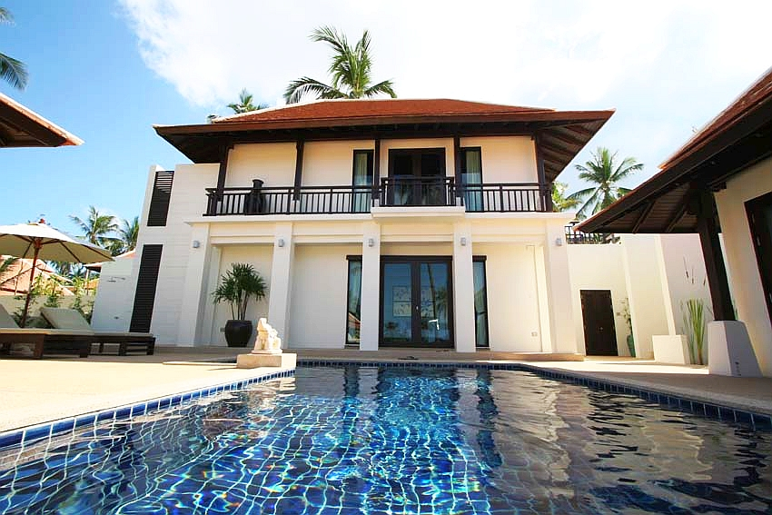 2 Bedroom Garden Villa with Private Pool at Bangrak Koh Samui, Thailand