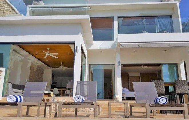 4 Bedroom Sea View Villa with Infinity Pool at Chaweng Ko Samui