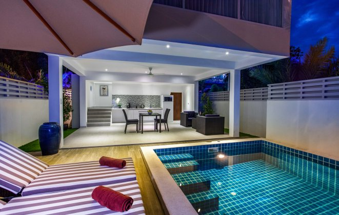 1 Bedroom Garden View Villa with Private Pool at Choeng Mon