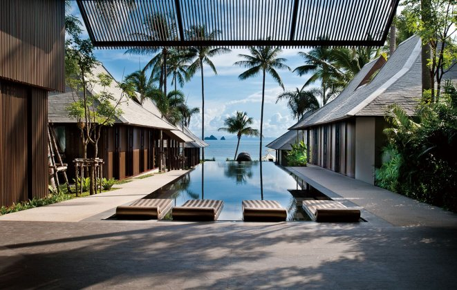 5 Bedroom Beach Front Villa with Infinity Pool at Lipa Noi Koh Samui