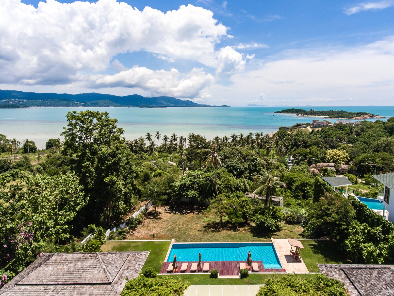 3 Bedroom Sea View Villa with Private Pool at Tongson Bay Koh Samui