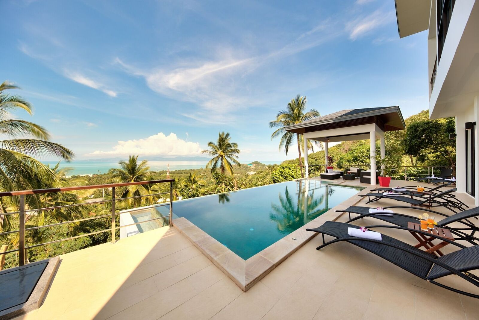 2 Bedroom Option Sea View Villa with Private Pool at Maenam Ko Samui