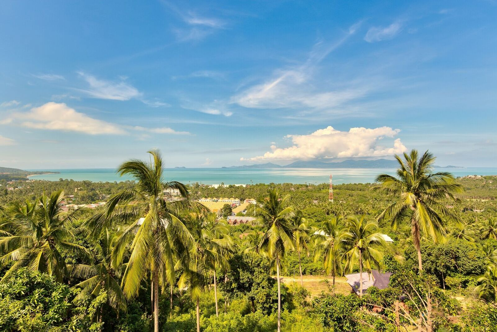 4 Bedroom Sea View Villa with Private Pool at Maenam Ko Samui