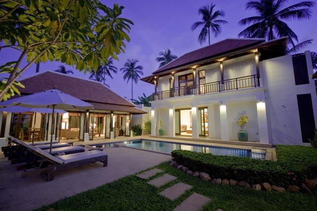2 Bedroom Garden Villa with Private Pool at Bangrak Ko Samui