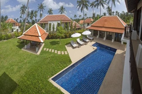2 Bedroom Garden Villa with Private Pool at Bangrak Ko Samui