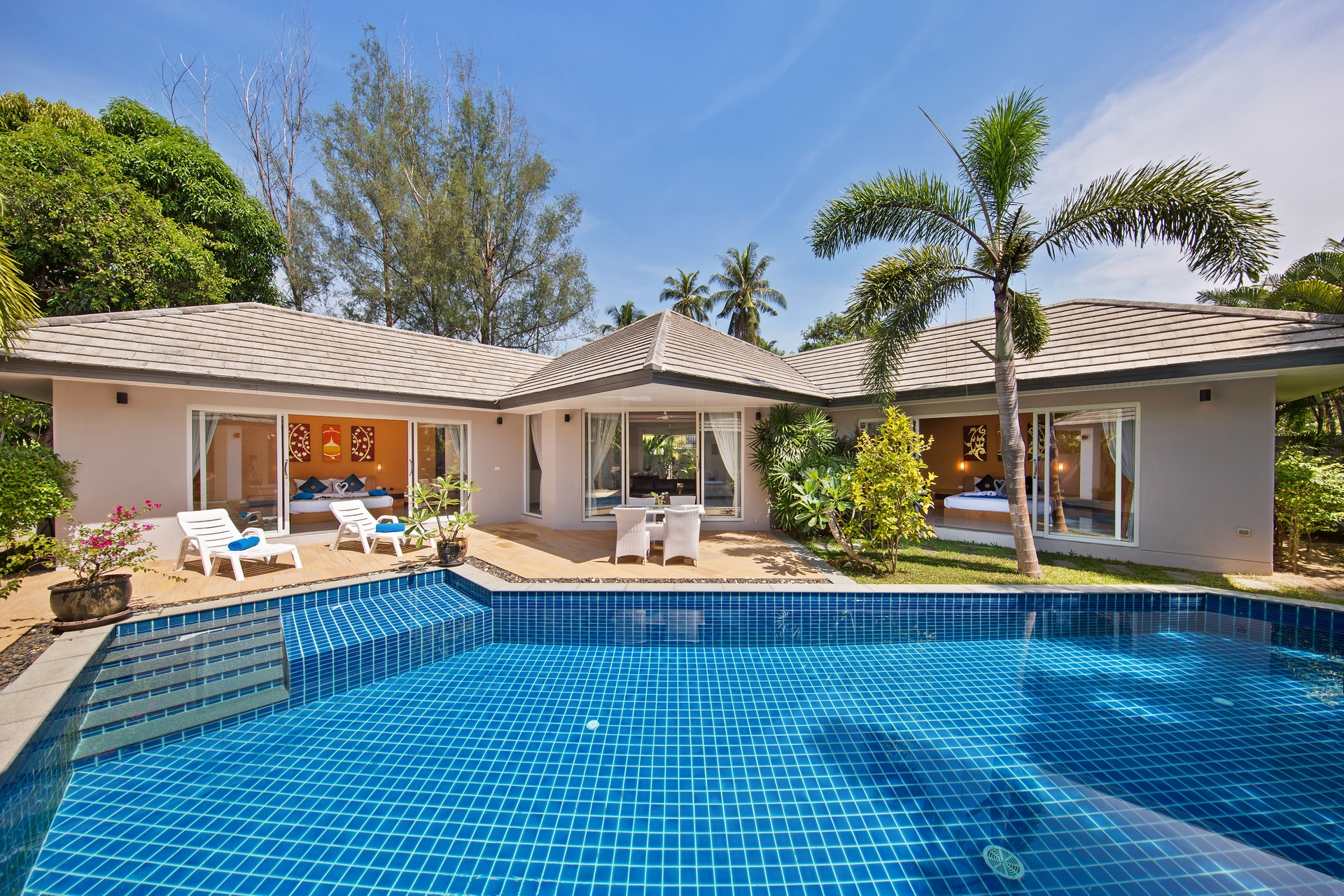 2 Bedroom Garden Villa with Private Pool at Lipa Noi Koh Samui