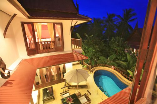 3 Bedroom Garden Villa with Private Pool at Choeng Mon Koh Samui