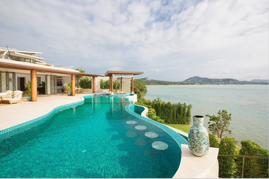 4 Bedroom Sea View Villa with Private Pool at Plai Laem Ko Samui