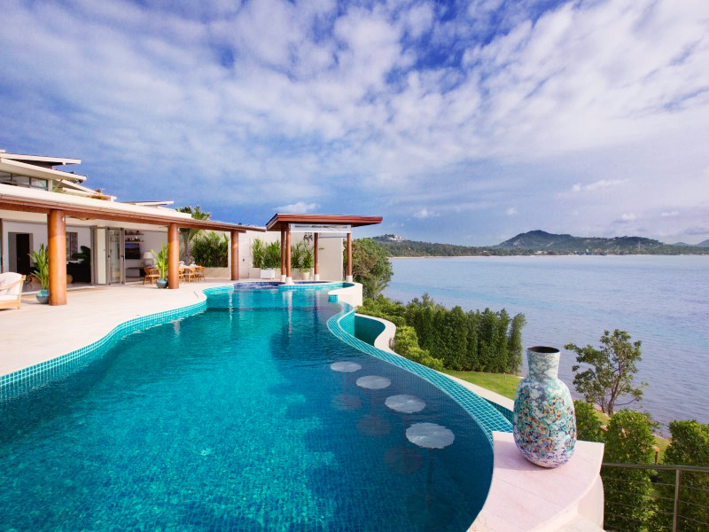 2 Bedroom Option Sea View Villa with Private Pool at Plai Laem Ko Samui