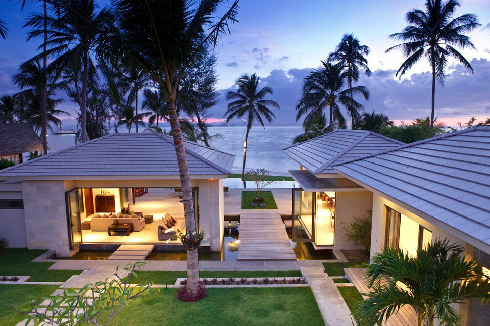 5 bedroom villas in koh samui samui island villas for Beach villa design ideas