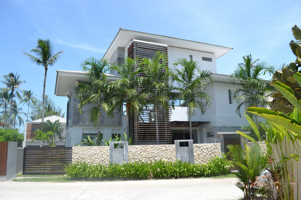 6 Bedroom Option Luxury Beach Front Villa with Private Pool at Lipa Noi Koh Samui