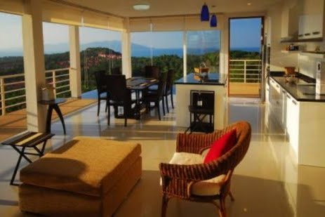 3 Bedroom Sea View Villa with Private Pool at Choeng Mon Ko Samui Thailand