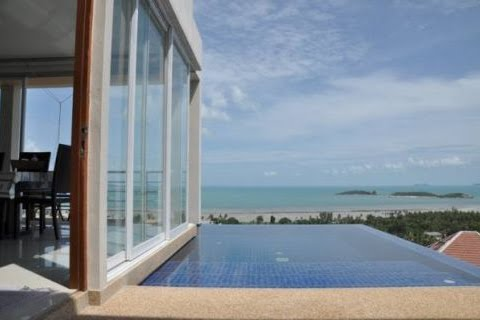 2 Bedroom Option Sea View Villa with Private Pool at Choeng Mon Ko Samui Thailand
