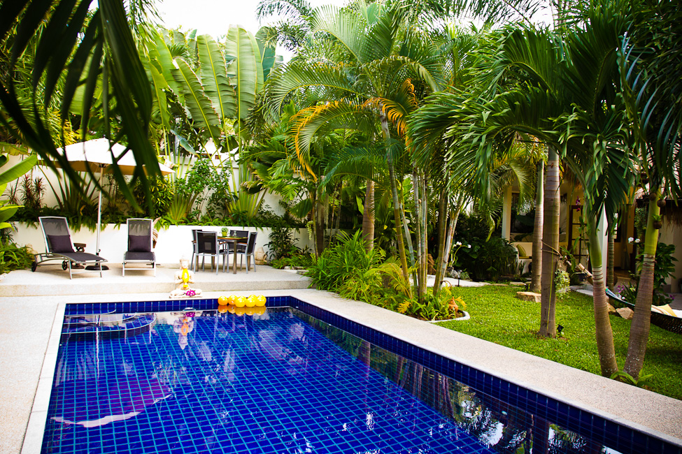 2 Bedroom Garden Villa with Private Pool at Bophut Koh Samui