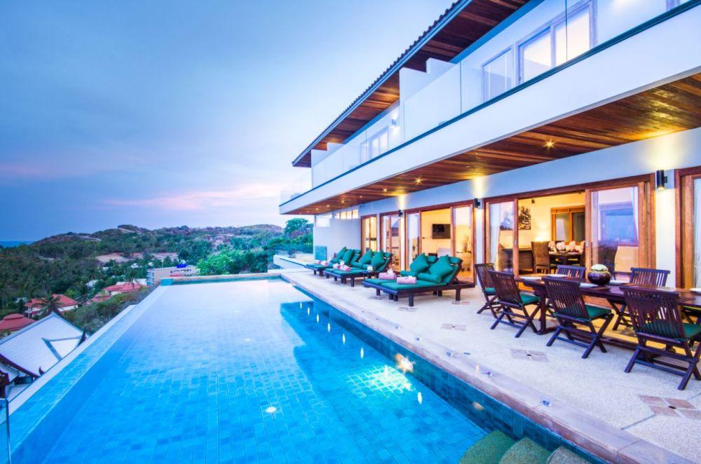 3 Bedroom Option Sea View Villa with Private Pool at Tongson Bay Ko Samui