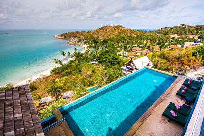 5 Bedroom Sea View Villa with Private Pool at Tongson Bay Ko Samui