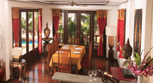 3 Bedroom Garden Villa with Private Pool at Choeng Mon Samui