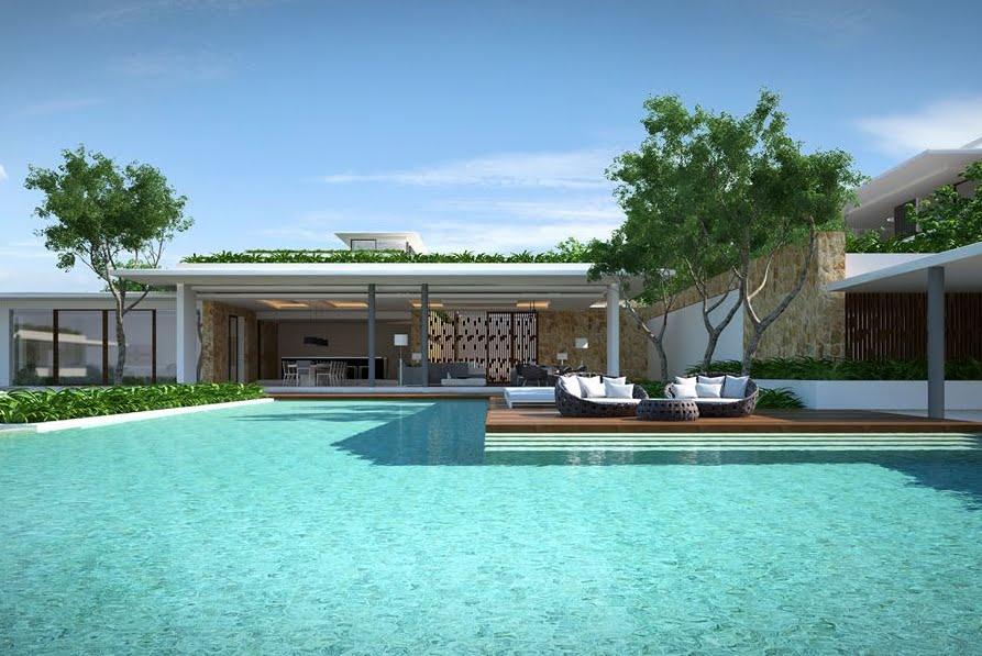 6 Bedroom Pool Villa with Sea View at Choeng Mon Ko Samui