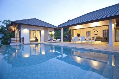 4 Bedroom Sea View Villa with Private Pool at Choeng Mon Ko Samui Thailand
