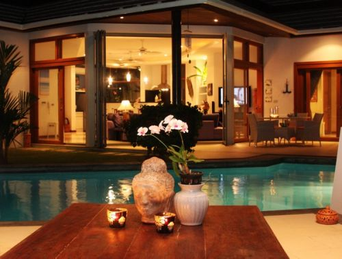 3 Bedroom Luxury Garden Villa with Pool at Choeng Mon Koh Samui