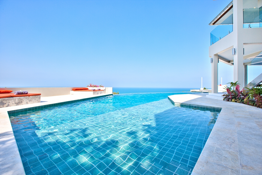4 Bedroom Option Pool Villa with Sea View at Choeng Mon Koh Samui