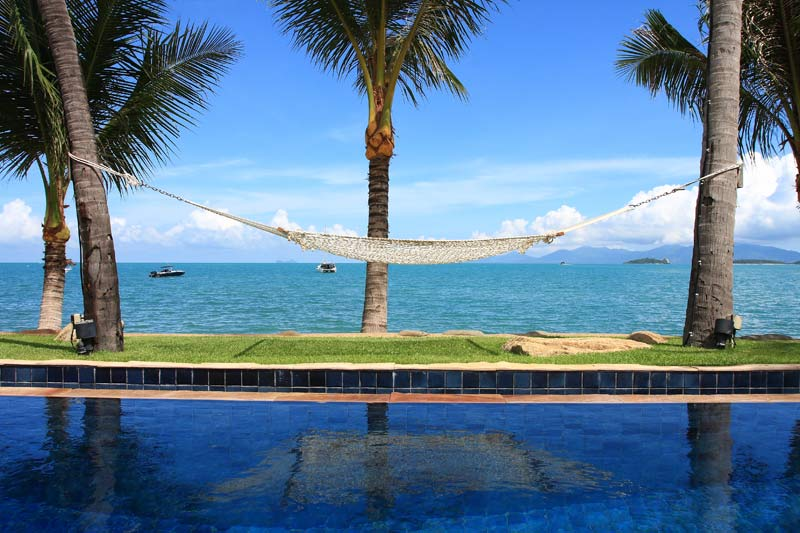 7 Bedroom Beach Front Villa with Private Pool at Bangrak Koh Samui
