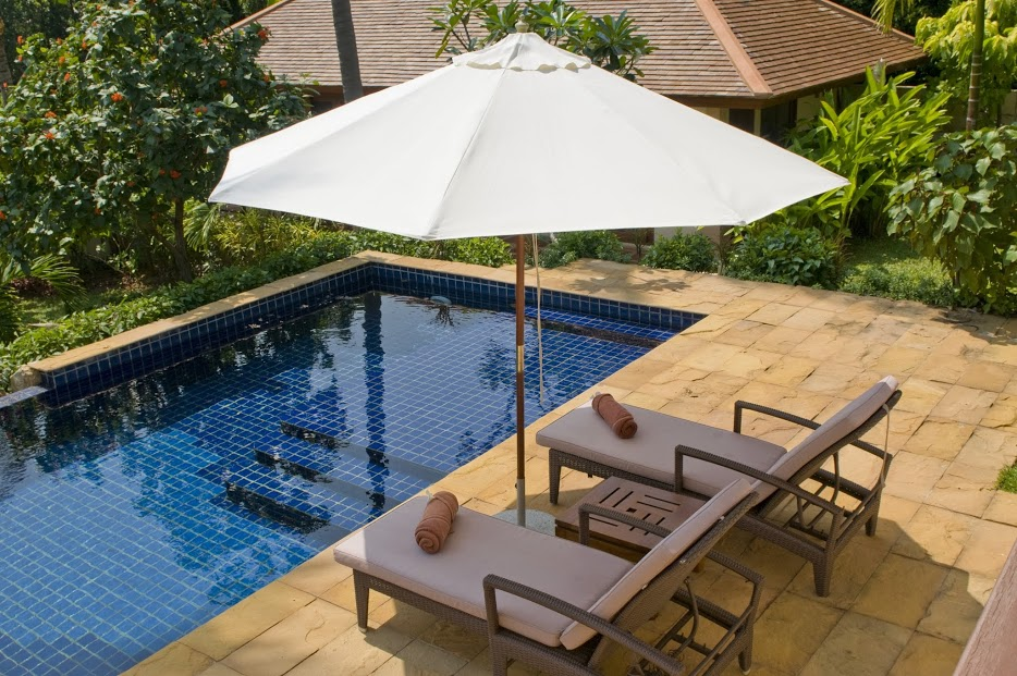 3 Bedroom Garden Holiday Villa with Pool at Choeng Mon Ko Samui