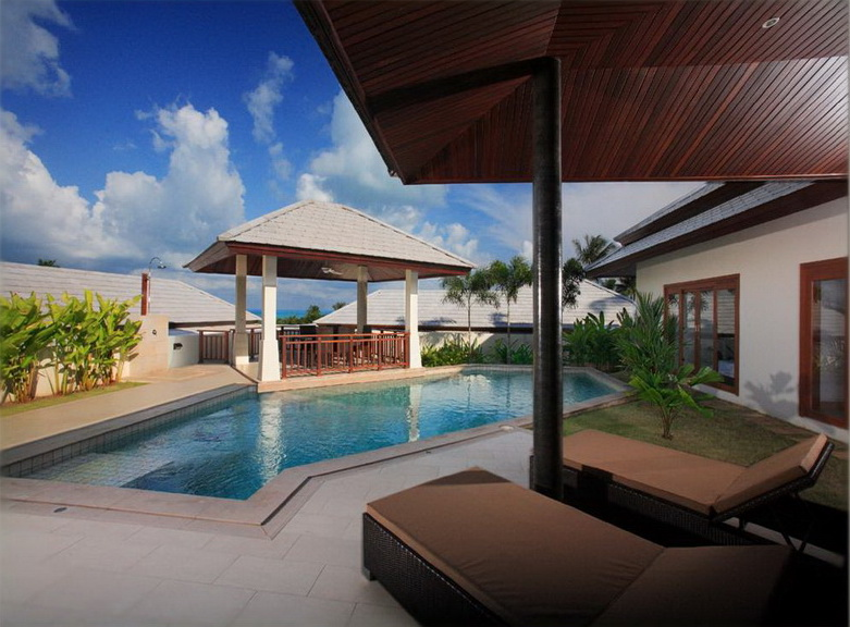 3 Bedroom Garden Luxury Villa with Pool at Choeng Mon Samui