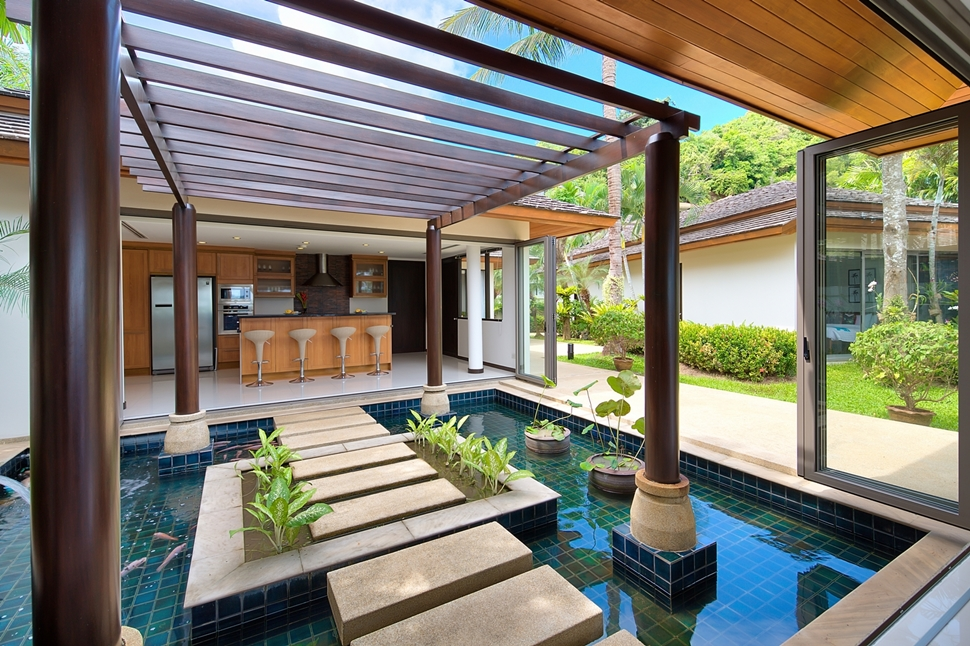 2 Bedroom Option Beach Front Villa with Private Pool at Bophut Samui