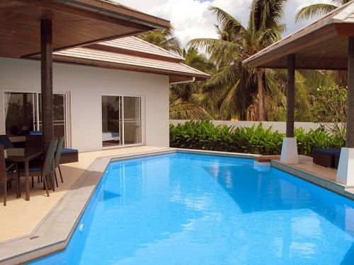 3 Bedroom Garden View Villa with Pool at Choeng Mon Koh Samui Thailand