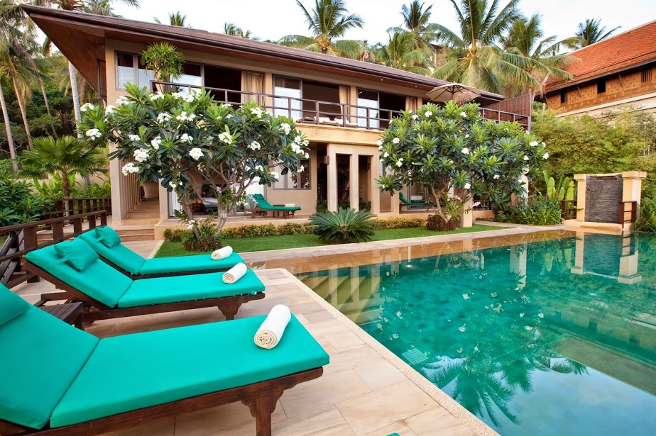4 Bedroom Sea View Villa with Pool at Bophut Koh Samui Thailand